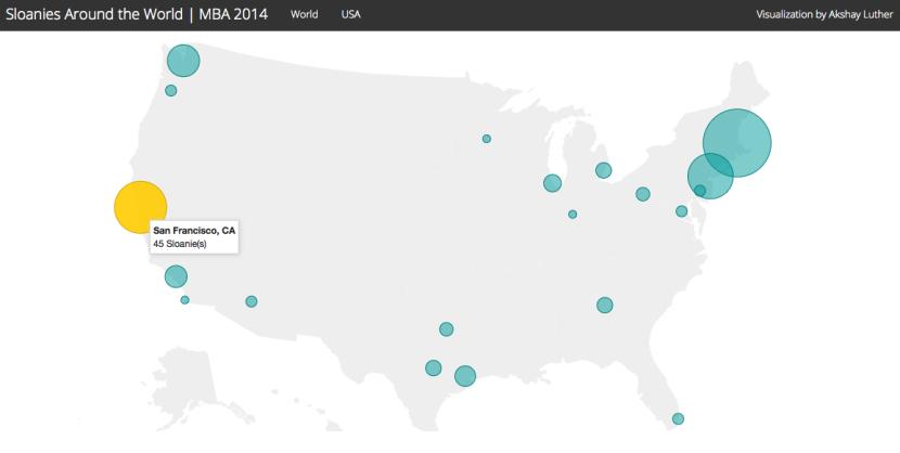 Sloanies Around the World - USA