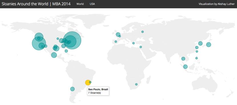 Sloanies Around the World