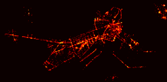 The MIT Big Data Challenge: Visualizing Four Million Taxi Rides